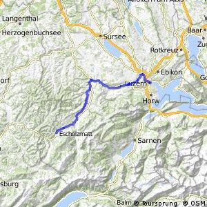 rcn 24 - Etappe 3 (Escholzmatt-Luzern)