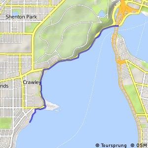 Ride around the Rivers Ride 2 - Narrows Bridge (Perth) to Nedlands