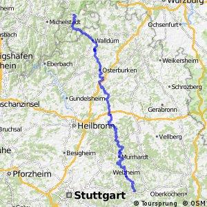 Deutscher Limes-Radweg 4. Abschnitt Miltenberg - Lorch
