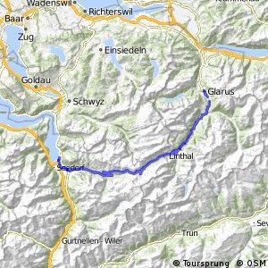 ncn 4 - Etappe 3 (Glarus-Flüelen)