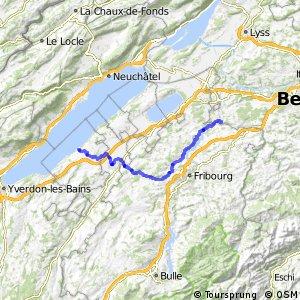 rcn 34 - Etappe 1 (Estavayer-le-Lac-Laupen)
