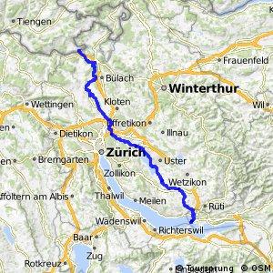 rcn 29 - Glatt-Route (Glattfelden (Rheinsfelden)-Rapperswil)