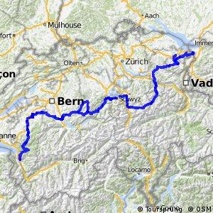 ncn 4 - Alpenpanorama-Route (St. Margrethen-Aigle)