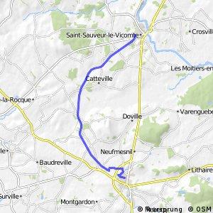 Saint-Sauveur-le-Vicomte / La Haye-du-Puits