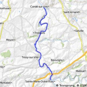 Condé-sur-Vire / Pont-Farcy