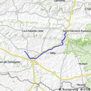 Mortain / Saint-Hilaire-du-Harcouët