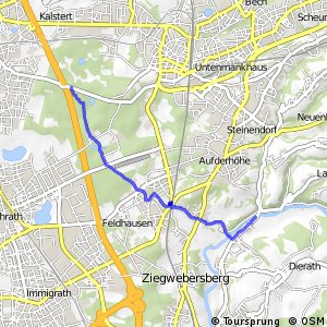Radverkehrsnetz NRW: Nesselrath-Wiescheid-Heide