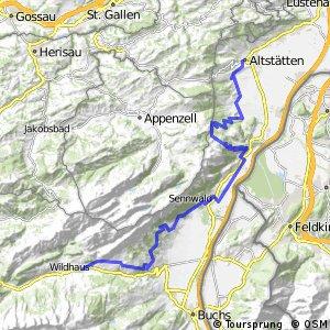 rcn 55MTB - Wildmannli Bike (Etappe 2 Wildhaus - Altstätten)