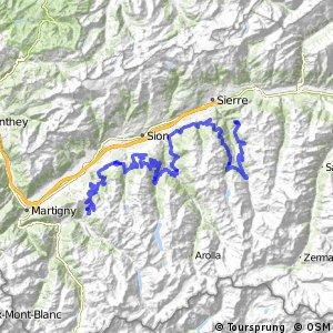 rcn 43MTB Valais Alpine Bike (Verbier-Sierre;Chandolin)