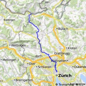 rcn 32 - Etappe 1 (Kaiserstuhl-Zürich)