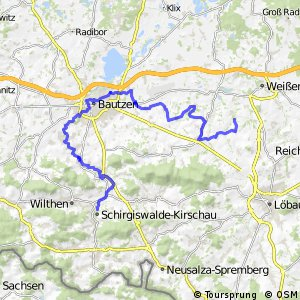 Archäologischer Radwanderweg Lausitz Südroute