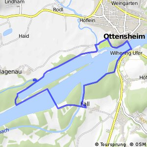 EuroVelo 6 - part Austria - leg 2 common (Ottensheim)