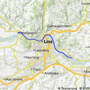 EuroVelo 6 - part Austria - leg 3 common (Ottensheim - Sankt Georgen)