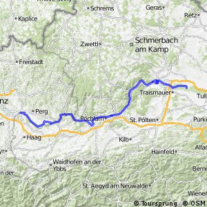 EuroVelo 6 - part Austria - leg 6 north (Mauthausen - Altwörth)