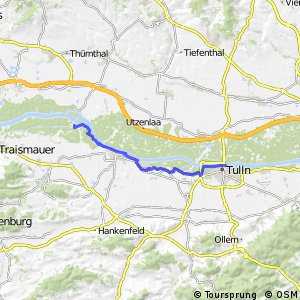 EuroVelo 6 - part Austria - leg 7 common (Altenwörth - Tulln)