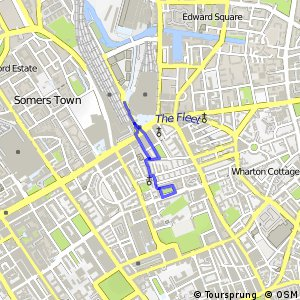 London Cycle Network route 0 - Stations Circular (St. Pancras Spur)