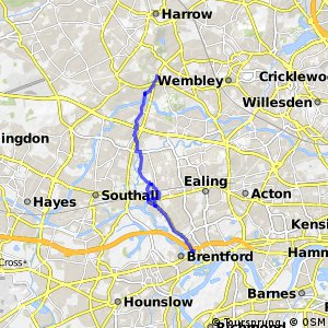 London Cycle Network route 87