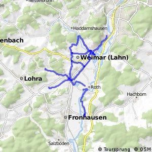 Nebenstrecke MR/BI (Gemeinde Weimar (Lahn))