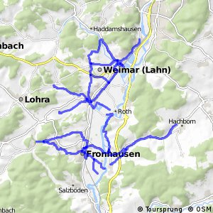 Radverkehrsnetz Landkreis Marburg-Biedenkopf