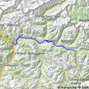 Pustertal Radweg - Pista Ciclabile della Val Pusteria