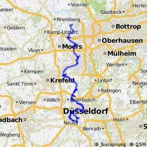 Erlebnisweg Rheinschiene (West (Nord))