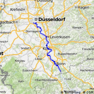 Erlebnisweg Rheinschiene (West (Süd))