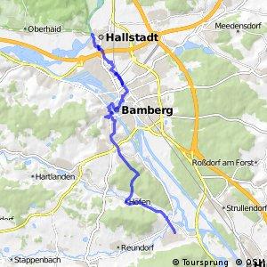 Brauereien- und Bierkellertour Variante Hallstadt - Bamberg - Pettstadt