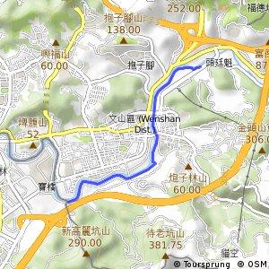 景美溪左岸自行車道