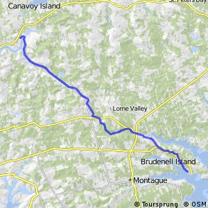 Confederation Trail - Mount Stewart to Georgetown