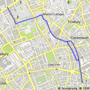 Proposed London Cycle Superhighway 6 Extension