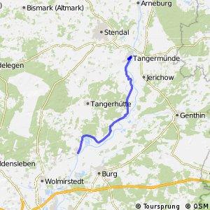 [D10] Elberadweg [Abschnitt I] Tangermünde - Magdeburg [linkselbisch]