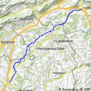 rcn 34 - Etappe 3 (Burgdorf (Kirchberg)-Zofingen (Oftringen))