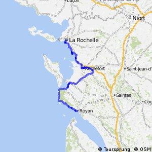 EV1 La Rochelle > Royan
