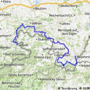Sächsische Mittelgebirgsroute [Zittau↔Sebnitz]