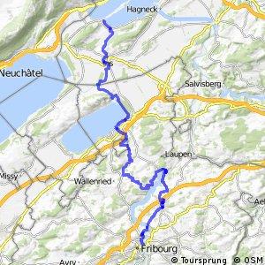 rcn 59 - Etappe 4 (Fribourg-Erlach)