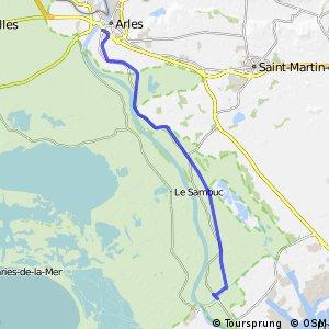 Via Rhôna - Arles > Mas Thibert