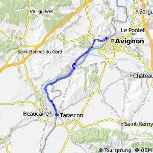Via Rhôna - Avignon > Tarascon