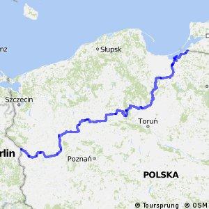 Euroroute R1 - part Poland