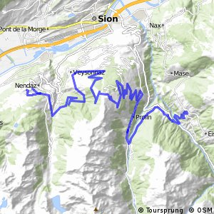 43MTB Valais Alpine Bike (Etape 2 Nendaz--St-Martin)