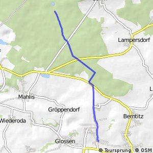 Döllnitztal-Nebenroute