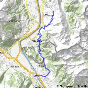 rcn 48MTB Rheintal Bike ( Etappe 2 Triesenberg (FL) - Bad Ragaz)