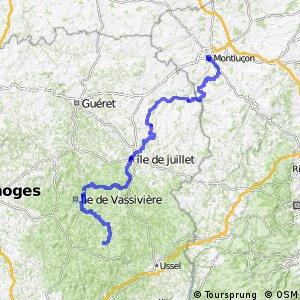 Véloroute de la Loire et la Garonne