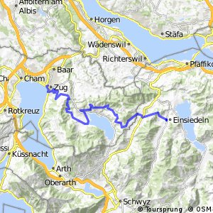 rcn 99 - Etappe 8 (Zug - Einsiedeln)