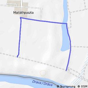 Három folyó Maláthpuszta kitérő