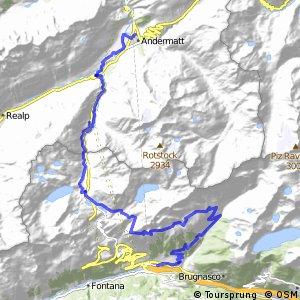 rcn 65MTB - Gottardo Bike Etappe 1 (Andermatt-Airolo)