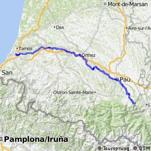 Véloroute du Piémont Pyrénéen - Bayonne > Saint-Pé-de-Bigorre