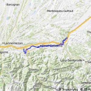 Véloroute du Piémont Pyrénéen - Montéjeau > Roquefort-sur-Garonne