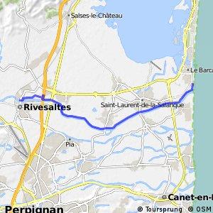 Véloroute du Piémont Pyrénéen - Rivesaltes > Le Barcarès