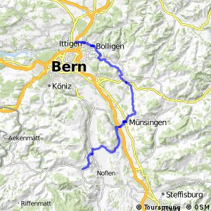 rcn 37 - Etappe 1 (Ittigen-Schwarzenburg)