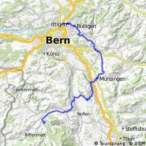 rcn 37 - Bern-Süd-Route (Ittigen-Schwarzenburg)